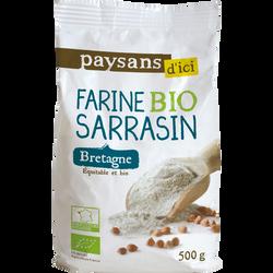 Farine de sarrasin bretagne bio 500g