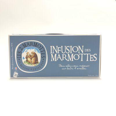 Infusion des Marmottes LES 2 MARMOTTES 30 sachets 46g