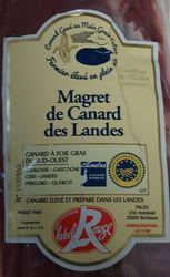 Magret de Canard Gras Fermier des Landes Label Rouge