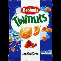 Cacahuètes enrobées saveur Mexicaine Twinuts BENENUTS, 150g