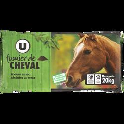 Fumier de cheval U, 20kg