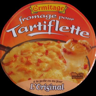 Fromage pour tartiflette au lait pasteurisé  27% de matière grasse ERMITAGE, 450g
