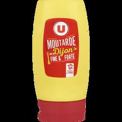 Moutarde forte de Dijon U, moutardier souple de 265g