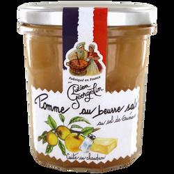 """Spécialité pomme beurre salé au sel de Guérande """"les recettes cuites au chaudron"""", LUCIEN GEORGELIN, 350g"""