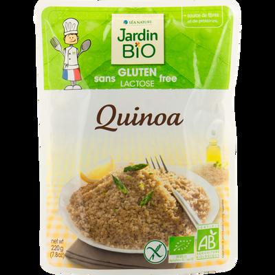 Quinoa précuit sans gluten bio JARDIN BIO jar 220g