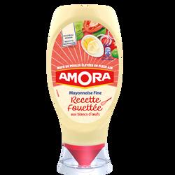 Mayonnaise fine recette fouettée AMORA, tube de 398g
