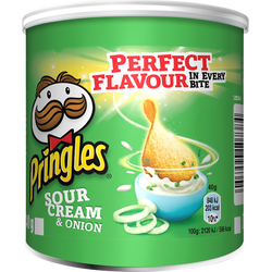 Crème & oignon PRINGLES, mini paquet de 40g