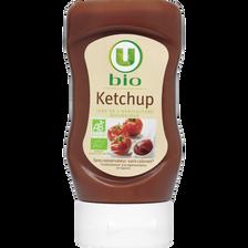 Ketchup nature bio U, flacon souple de 340g