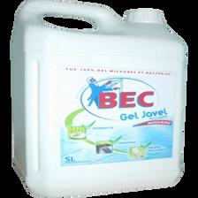 Gel dégraissant nétt.désinfectant 2,6% CA javel Bec bidon 5l