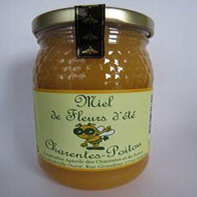 Miel de fleur d'été, Charentes-Poitou, 500gr, pot, Coopérative apicole des Charentes et du Poitou