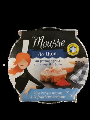 Mousse de thon fromage frais paprika TY GWENN 90G+RIC 0,70E