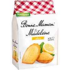 Bonne Maman Madeleine Tradition Citron , Paquet De 300g