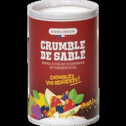 Crumble pur beurre de Broyé GOULIBEUR, sachet de 200g