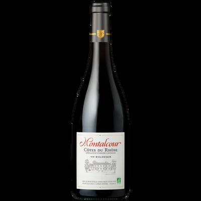 Côtes du Rhône AOP rouge Montalcour bio 2018 bte 75cl