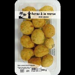 Acras de morue + sauce DELICES D'ORIENT, 300g