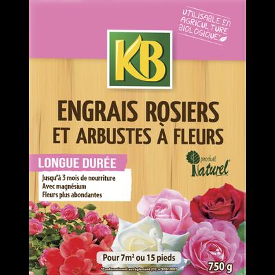 ENGRAIS ROSIERS ET ARBUSTES A FLEURS KB ORGANO-MINERAL 800G-