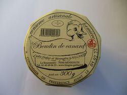 BOUDIN DE CANARD GAILLARD BOCAL 300G