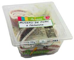 Museau de porc à l'échalote, SOLEANE barquette de 230g