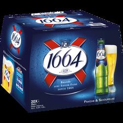 Bière blonde 1664 5,5° pack 20x25cl