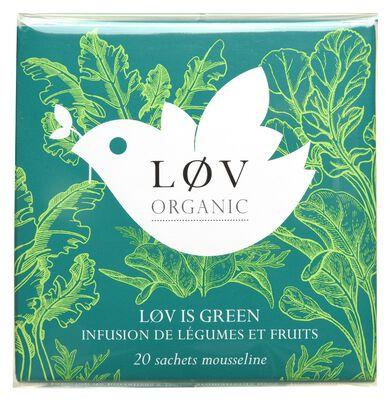 Lov is Green KUSMI TEA