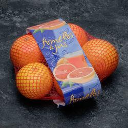 Pomelos rouge à jus Star Ruby, calibre 56, Afrique du Sud, girsac 5 fruits
