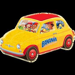 Fiat 500 garnie BANANIA, 150g