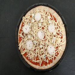 PIZZA 3 FROMAGES 600GR