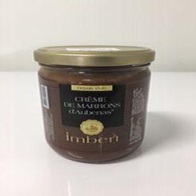 creme de marron imbert pot verre 500g