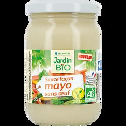 Sauce façon mayonnaise vegan sans oeuf bio JARDIN BIO 185g