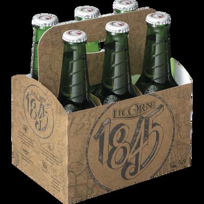 Bière blonde LICORNE 1845, 5,9°, 6 bouteilles de 27,5cl