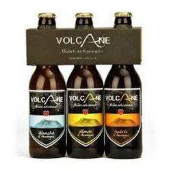 Bières artisanales auvergnate La Volcane 3 bouteilles de 33cl