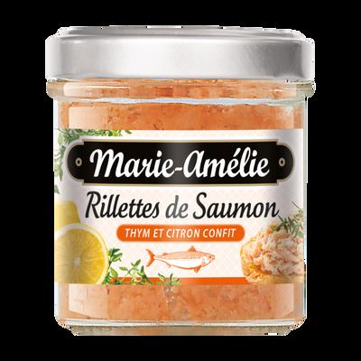 Rillettes de saumon thym et citron confit, MARIE AMELIE, 120g