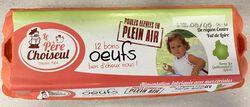 OEUFS  PLEIN AIR  HEMAN X12