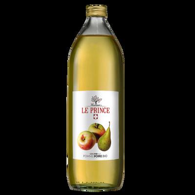 Pur jus de pomme et poire bio THOMAS LE PRINCE, 1 litre