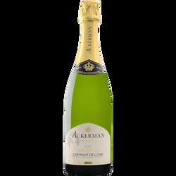 Crémant de Loire brut cuvée privilège ACKERMAN, 75cl