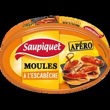 Saupiquet Moules À L'escabèche, , Boîte De 110g