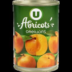 Abricots au sirop léger U, 235g