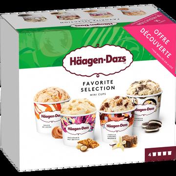 Häagen-Dazs Mini Pots Favorite Selection Häagen Dazs, 318g