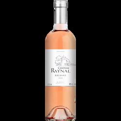 Vin rosé AOP Gaillac Château Raynal, bouteille de 75cl