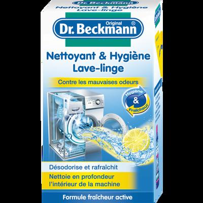 Nettoyant poudre hygiène lave-linge DR BECKMANN, boîte de 250g