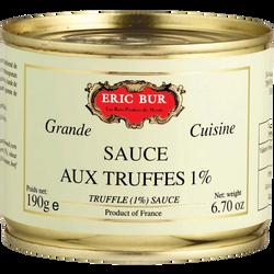 Sauce aux truffes 1%  ERIC BUR, 190g