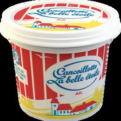 Cancoillotte à l'ail au lait pasteurisé 8% de matière grasse LA BELLEETOILE, 250 g