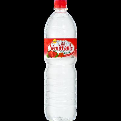 Eau de source à la fraise SEMILLANTE, bouteille 1.50l