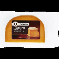 Mimolette vieille au lait pasteurisé U SAVEURS, 29% de MG, 200g