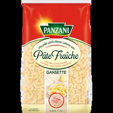 Panzani Gansettes Qualité Pâtes Fraîches ,paquet De 400g