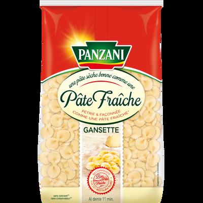 Gansettes qualité pâtes fraîches PANZANI,paquet de 400g