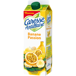 Nectar banane passion CARESSE ANTILLAISE, brique de 1l