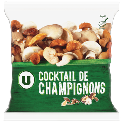 Cocktail de champignons U, 400g