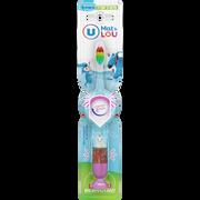 Lou Brosse À Dents Clignotante Pour Enfant 3 À 6 Ans U Mat Et Lou