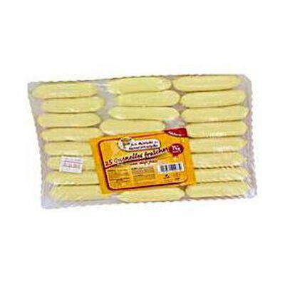 Quenelles aux oeufs frais LA RONDE DES GOURMANDS, 25 unités, 1kg